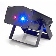 American DJ Micro Royal Galaxian Red / Blue Laser Light Mobile Disco Party Lighting